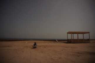 Eastern most tip of Arabia, 30s exposure, it is 100% out here