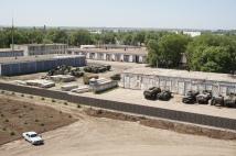 Old russian military base next door