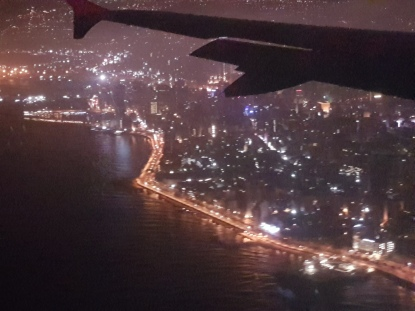 Flying into Beirut