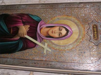 St Hripsimes tomb