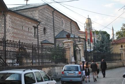 The church in Bitola