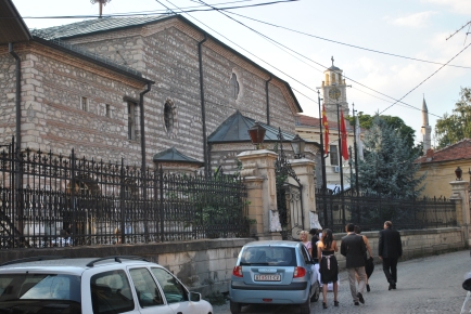 The church in Bitola