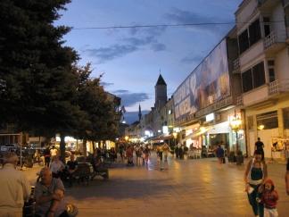 Shirok Sokak, pedestrian street in Bitola