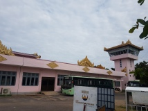 Bagan airport building