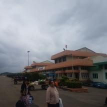 Heho airport building