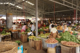 New Bagan Market