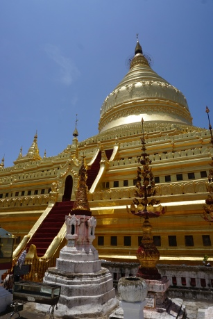 Shwezigon golden pagoda