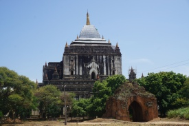 Thatbyinnyu Temple - Tallest pagoda in Bagan