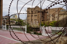 Old prison building