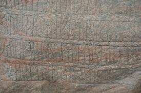 Rune inscription on Harald's stone