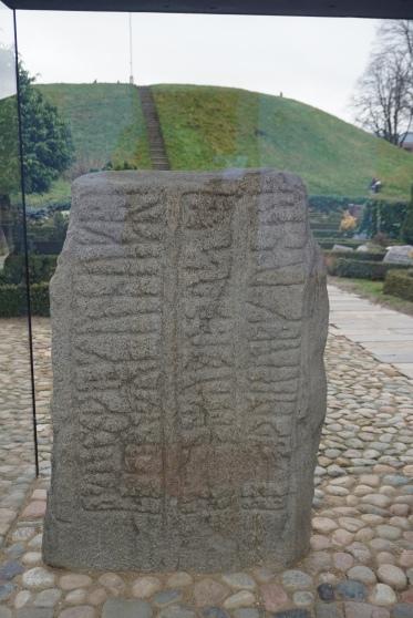 Rune inscription on Gorm's stone