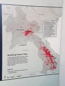 Target sites of bombings