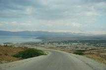 Approaching Dead Sea