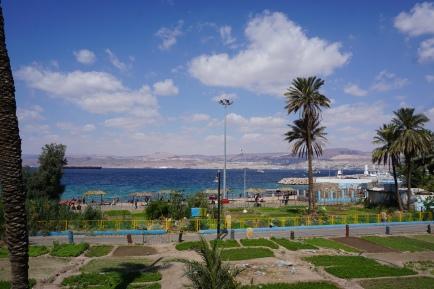 Aqaba beach front