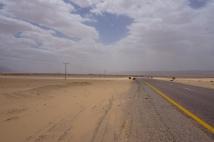 Endless sand..
