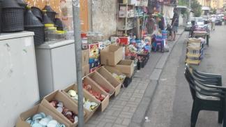 Tirana side streets