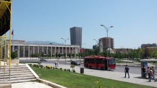 Tirana central square